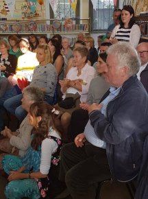 Audience at Sligo Library